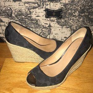 Coach sundress heels